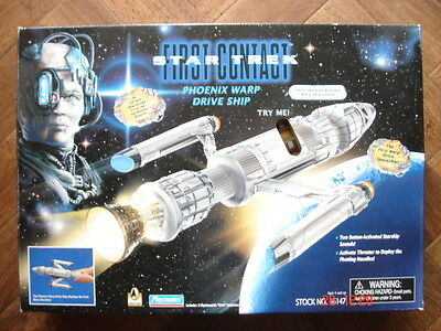 Star Trek First Contact Collectors Edition Phoenix Warp Drive Ship 1996 MIB