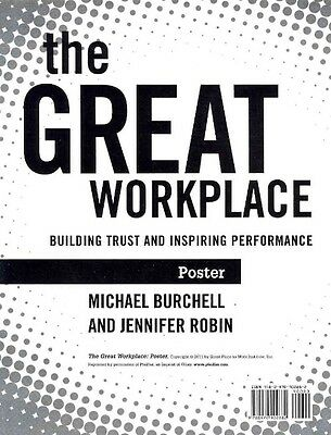 The Great Workplace Poster by Michael Burchell Paperback Book