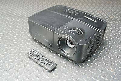 InFocus IN124A DLP Projector 3500 Lumens 431 Lamp Hours 1024x768 HDMI
