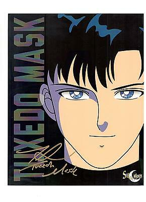 Toby Proctor Authentic Signed Autograph Montreal Comiccon 2016 Sailor Moon Tuxed