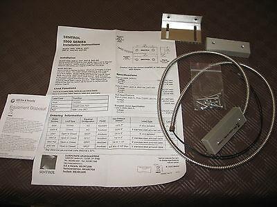 Sentrol 2505-A Wide Gap Magnetic Contact Kit for Alarms, Industrial Commercial