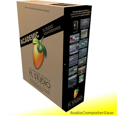 Image Line FL STUDIO 12 SIGNATURE BUNDLE Software DAW Edu Full Retail NEW
