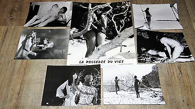 joe d'amato LA POSSEDE DU VICE laura gemser rare photos argentique cinema 1976