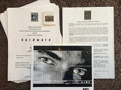 HARDWARE Richard Stanley PRESS PACK + PICS (Fields Of The Nephilim Lemmy)
