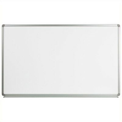 "Flash Furniture 36"" x 60"" Magnetic Marker Board in White"