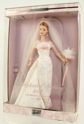 Mattel - Barbie Doll - 2002 Sophisticated Wedding (Bridal Collection) *NM BOX*