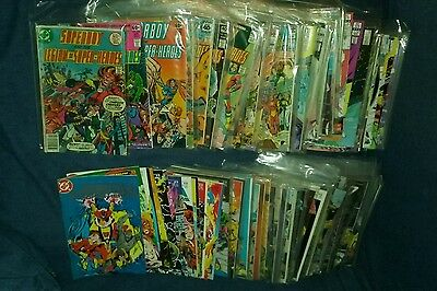 huge massive 203 issue superboy and the legion of super heroes dc comics lot jla