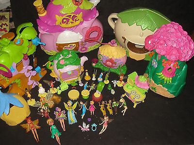 Disney Tinker Bell Tinkerbell Fairies Playsets Furniture Accessories Huge Toy Lo