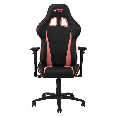 Gt Omega Pro Racing Gaming Office Chair Black Next Pink Leather Esport Seats Ak