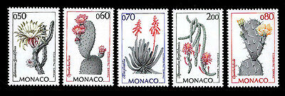 MONACO - Scott 1914-1918 - 1994 Flowering Cacti - MNH