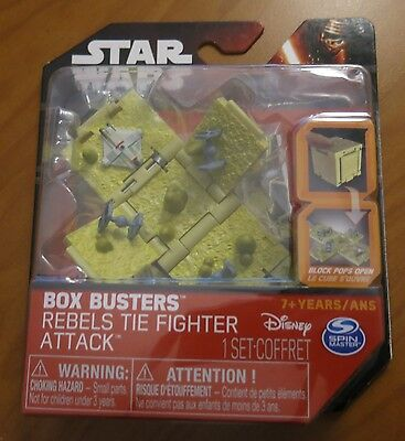 Star Wars Box Busters Rebels TIE Fighter Attack NEW SEALED vs The Ghost