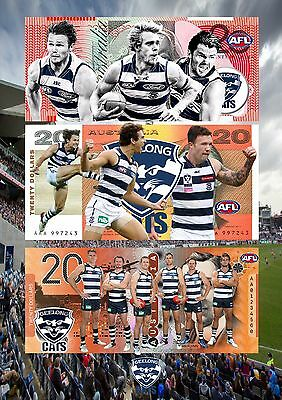 Geelong Cats A4 Dollars & Poster