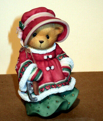 Cherished Teddies LORETTA 666963, Syndicated Cat Excl, MIB Warm & Cozy Over You