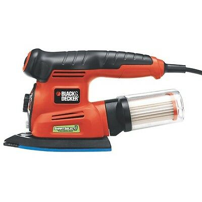 Black & Decker 4-in-1 Multi-Sander with Smart Select® Technology (MS2000)