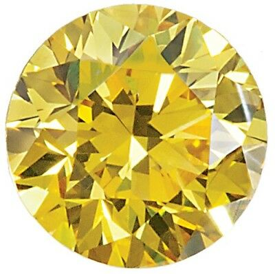 Natural Extra Fine Canary Yellow Diamond - Round - VS2-SI1 - Africa - Extra Fine
