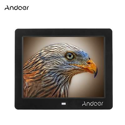 Andoer High Resolution Digital Photo Picture Frame with Remote Control New V9C4