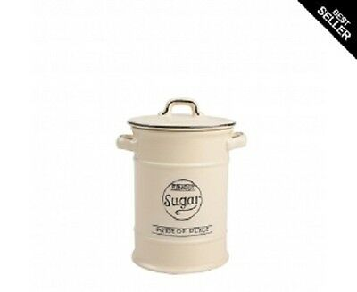 T & G Woodware - Pride of Place - Sugar Storage Jar - Old Cream
