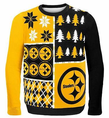 Pittsburgh Steelers Pullover Sweater Pulli,NFL Football,Winter Style,Gr.L