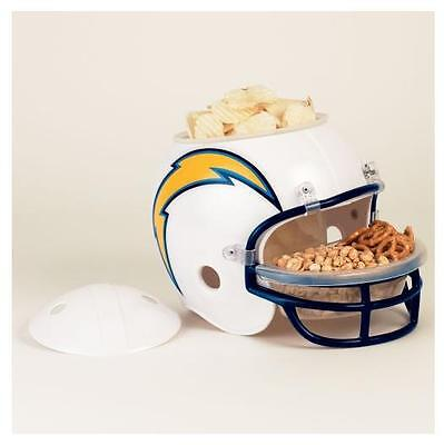 San Diego Chargers Snack Helm Helmet Full Size,NFL Football,für ihre Party !!!