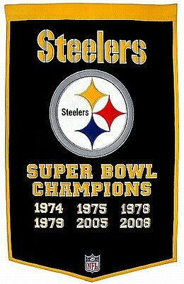 Pittsburgh Steelers Fan Wall Banner,90 x 60 cm !!,NFL Football,Neu,Hammerteil