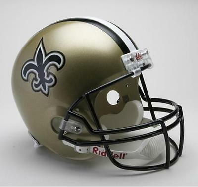 New Orleans Saints Riddell Deluxe Full Size 1:1 Replica Helm,NFL Football,NEU