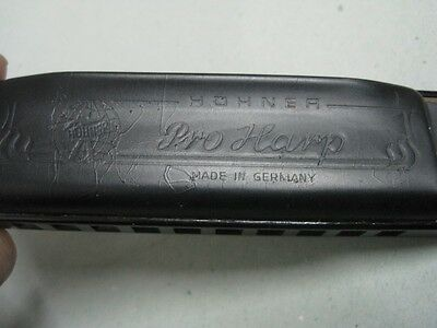 Antique Honner Pro Harp Harmonica made in Germany