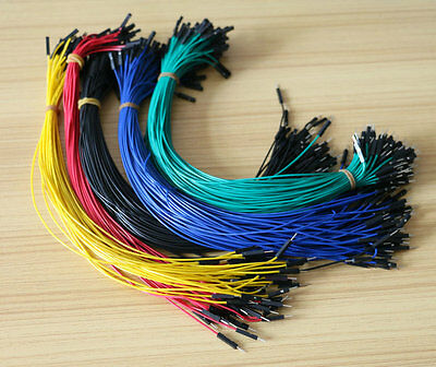 30cm 1p-1p 2.54mm Male to Female Dupont Wire Jumper For Arduino Bread pcb 100pcs