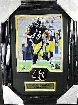 Troy Polamalu Pittsburgh Steelers NFL Football,48 cm Wall picture real