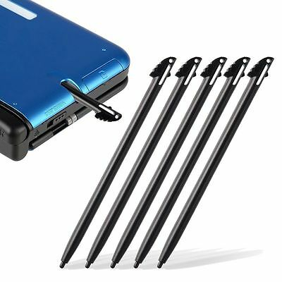 5x Black Plastic Touch Screen Stylus Pen for Nintendo 3DS N3DS XL LL NON C-STICK