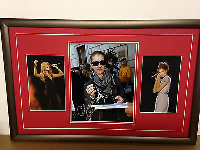 Celine Dion Genuine Hand Signed/Autographed Photograph with COA