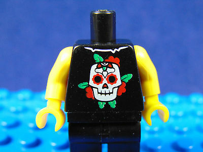 Lego-Minifigures Series [4] X 1 Torso For The Punk Rocker  From Series 4 Parts