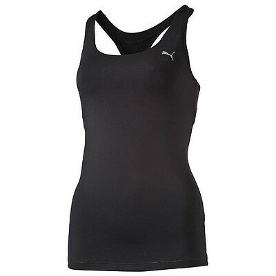 PUMA Damen Essential RB Tank Top Trainingsshirt schwarz