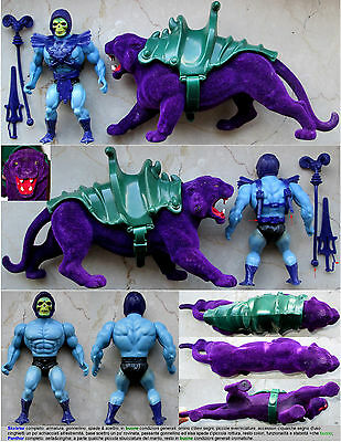 ******set Skeletor & Pantera_Masters Of The Universe_Motu_He-Man_Faker_B-