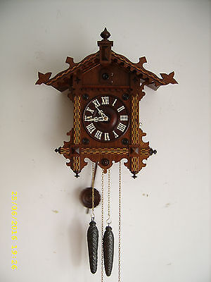 CUCKOO CLOCK from the 80's of the XIX century