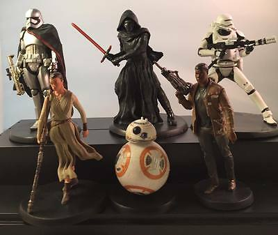Star Wars The Force Awakens Disney Parks Exclusive Figure Set! Loose!