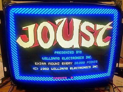 Working Williams Joust Rom board