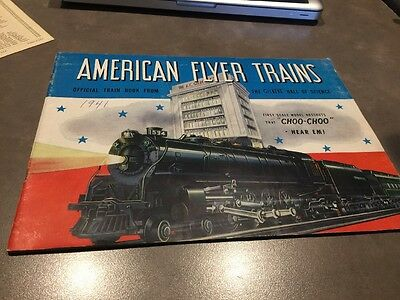 Gilbert American Flyer Trains Catalog For 1941