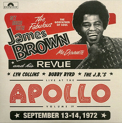 James Brown Get Down Live At The Apollo Volume IV Lyn Collins Bobby Byrd 2 x LP