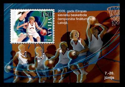 Basketball. Block. Lettland 2009