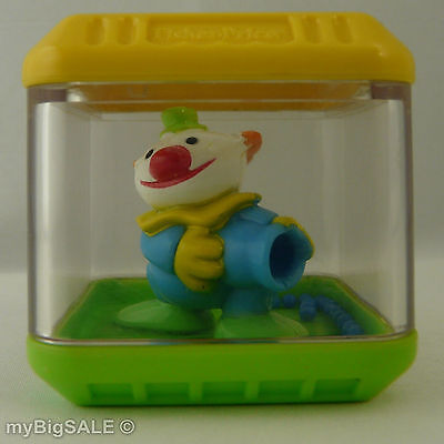 Fisher Price Peek a Blocks Clown Canon Yellow Green Blue Shot Replacement Block