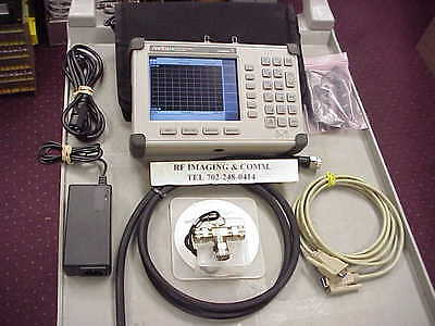 Anritsu SiteMaster S332D Cable / Antenna & Spectrum Analyzer / Option 3/10/21/29