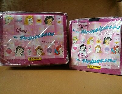 Italy Panini Disney My Princess stickers fr album 2 boxes 50 packets each sealed