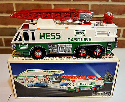 Hess Toy Emergency Truck 1996 With Search Light, Horn, & More