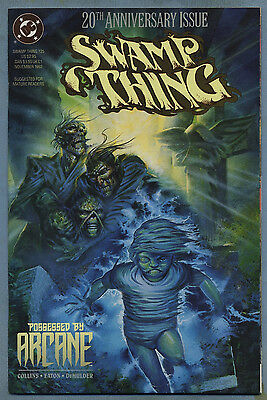 Swamp Thing #125 1992 20th Anniversary Issue Scot Eaton DC Comics c