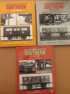 An illustrated history of Southern wagons volumes 1 to 3 (2000-2003)