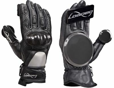 Loaded V2 Leather Race Longboard Gloves - Total Safety & Total Style!