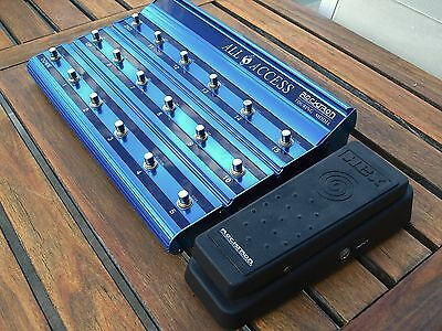 Rocktron All Accesss midi controller w. expression pedal