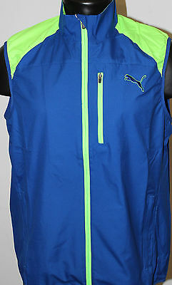 Puma Golf Full Zip Wind Vest - Surf the Web Blue - 2016 Collection