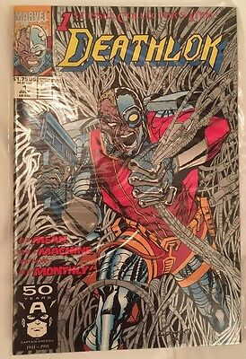 1st Issue Collectors Deathlok #1 comic book