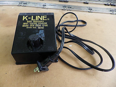 Vintage Collectable  K-Line O Gauge 3-Rail Train Power Supply Speed Controler